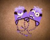 Despicable Me Evil Minion Crochet Hat