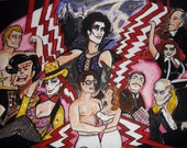 Rocky Horror Picture Show Original Illustration on Watercolor paper