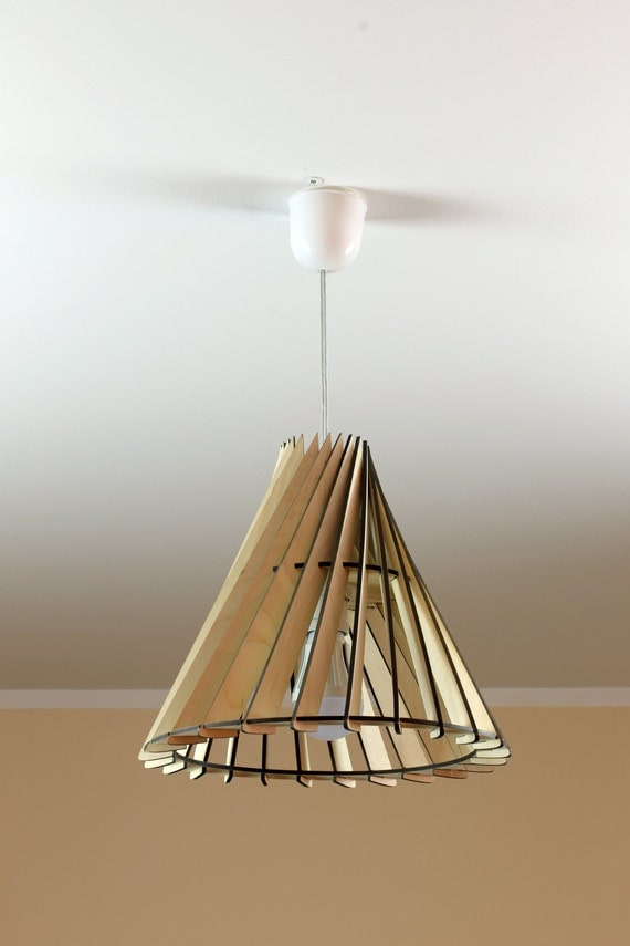 Decorative Lamp Shades : Wooden lamp eco friendly accent for home decorative