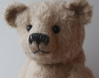 Fosdyke traditional jointed teddy bear sewing pattern DOWNLOAD by Barbara-Ann Bears as seen on The Great British Sewing Bee