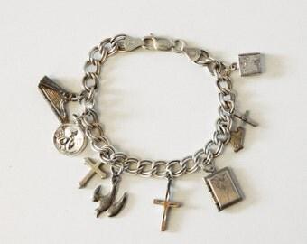 Religious Theme Charm Bracelet