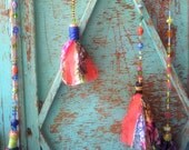 BOHO Chic-Fabric Tassels ...