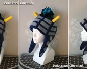 Fleece Hat inspired Dr Who's Daleks