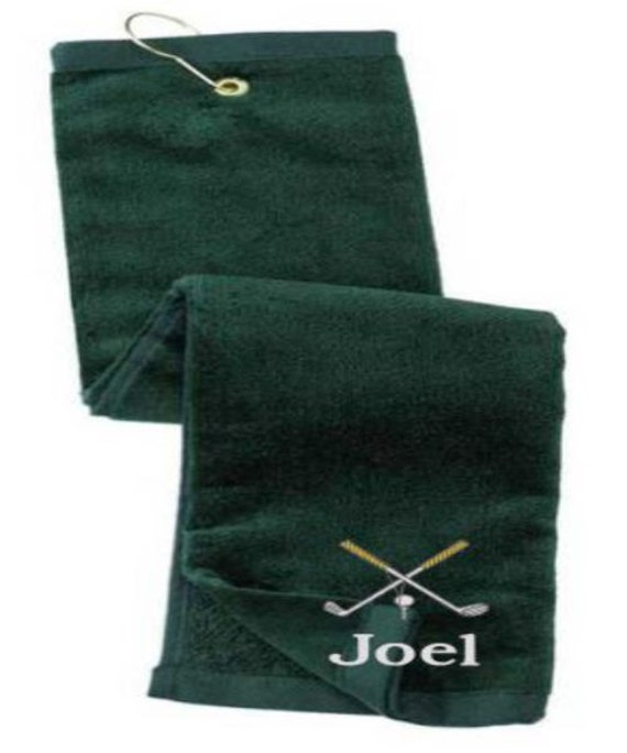 Golf, Personalized Golf Towel, Gift for Dad, Fathers Day Gift, Wedding Party gifts, Groomsman Gift, Gifts for Men, Christmas Gift Ideas, Dad