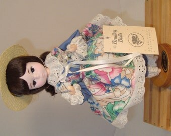 """VIntage 80's Bradley's """"Miss May"""" Collector Doll"""