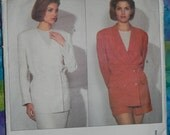Vogue Designer Pattern 2919 Calvin Klein Sizes 14-16-18