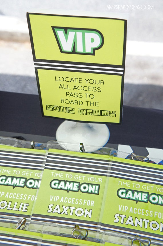 Game Accessibility Top Ten: GAME TRUCK Gamer Personalized VIP All