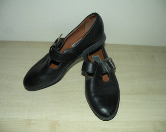 Vintage Ecco Leather Shoes Size EU 37