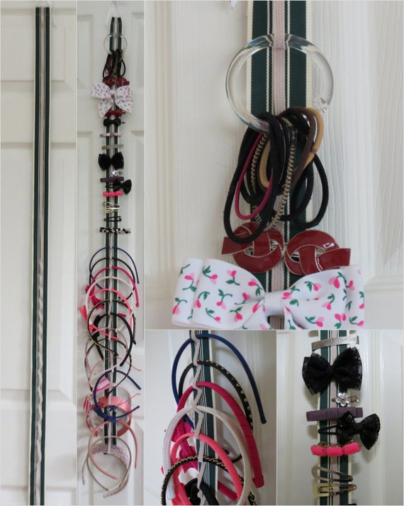 hair accessory organizer hair ties barrettes headbands. Black Bedroom Furniture Sets. Home Design Ideas
