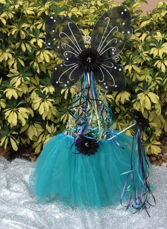Brave Tutu- Princess Merida Costume- Merida Tutu- Girls Brave Tutu- Toddler Brave Costume- Disney Princess Tutu- Blue Tutu