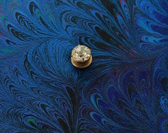 Mens Diamond  Magnetic Tie Clip or Tack