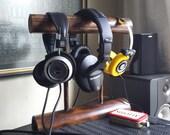Bamboo Headphone Stand