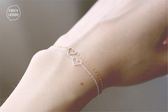 SALE heart bracelet
