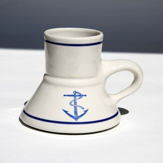 Captain Pirate No Spill Travel Mug Wide Base Narrow Top