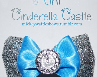Mini Cinderella Castle Hair Bow