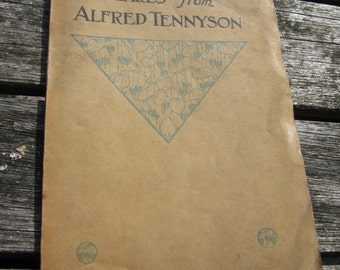 Pearls from Alfred Tennyson Small Poetry Book