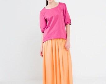 sewing pattern shirt sophie:  downloadable sewing pattern pdf