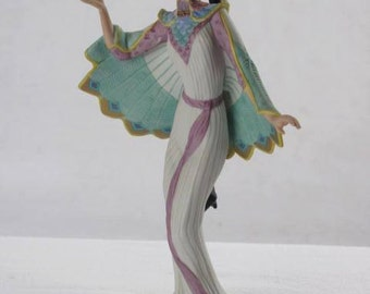 The Peacock Maiden, 1991 Lenox  Legendary Princesses Collection