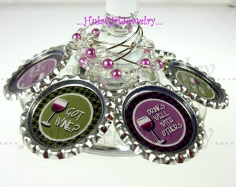 Wine Charms, Funny Sayings, Wine Snob, Must Have Wine, Wine Charm Sets