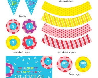POOL PARTY - Full Collection - The Celebration Shoppe