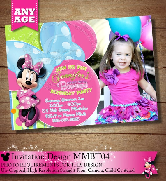 How To Create Minnie Mouse Invitations was perfect invitations layout