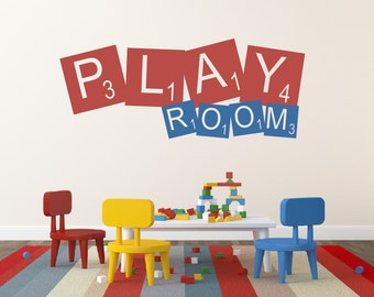Playroom Wall Decor masterpiece wall decal playroom wall art childrens decor