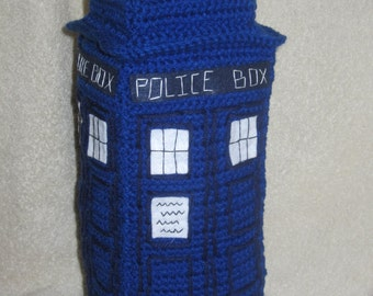 Crocheted TARDIS Pattern