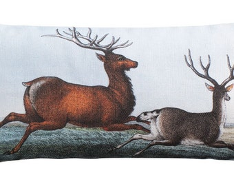 Pair of Deer Sachet Filled with Maine Harvested Balsam