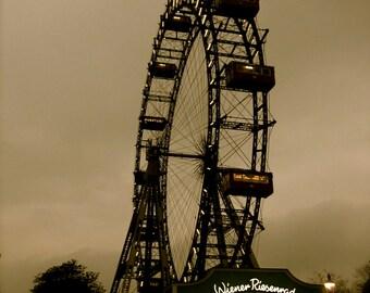 Travel Photography, Vienna, Austria, Europe, Ferris Wheel, The Third Man, fPOE, Wiener Riesenrad