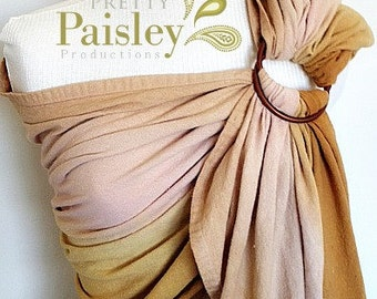 Custom Hand-Dyed Linen Sling