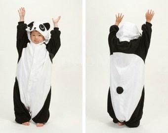 Halloween KIGURUMI Animal Pajamas Pyjamas Costume  Kid SLOTH  panda