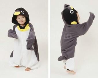 Halloween KIGURUMI Animal Pajamas Pyjamas Costume Kid SLOTH  penguin