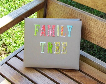 SALE! Premade Family Tree Scrapbook