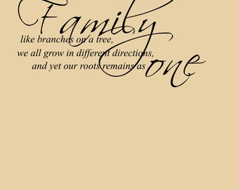 Bible Quotes About Family Family Wall Decal Bible Verse Decal Laundry Room Decal