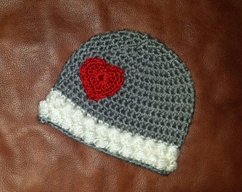 The Cherise hat in sizes newborn to adult