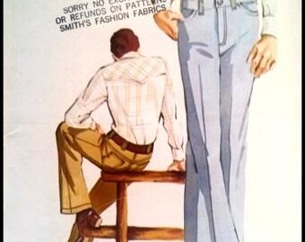 Kwik Sew 411  Men's Jeans  Sizes (36-40)