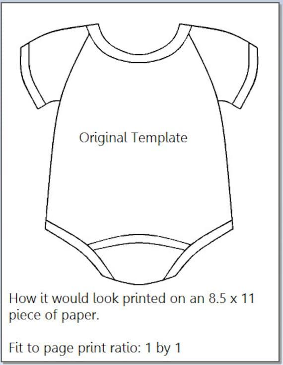 NEW 182 BABY ONESIE INVITATION TEMPLATE DOWNLOAD   baby onesie