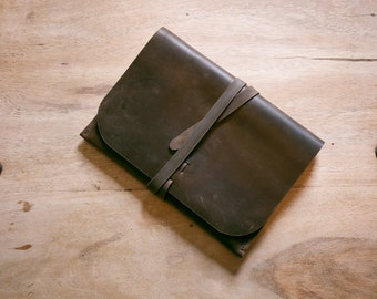 Leather iPad Portfolio Case + FREE personalisation