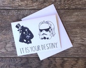 Star Wars Destiny Wedding Card