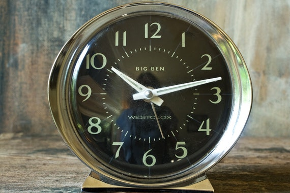 Big Ben Clock Vintage Big Ben Wind Up Alarm Clock By