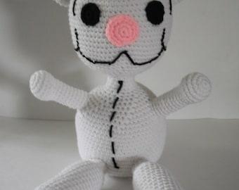 PATTERN -- Big Binoo Crochet Toy