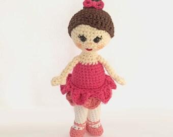 Amigurumi Ballerina Doll : Popular items for crochet ballerina on Etsy