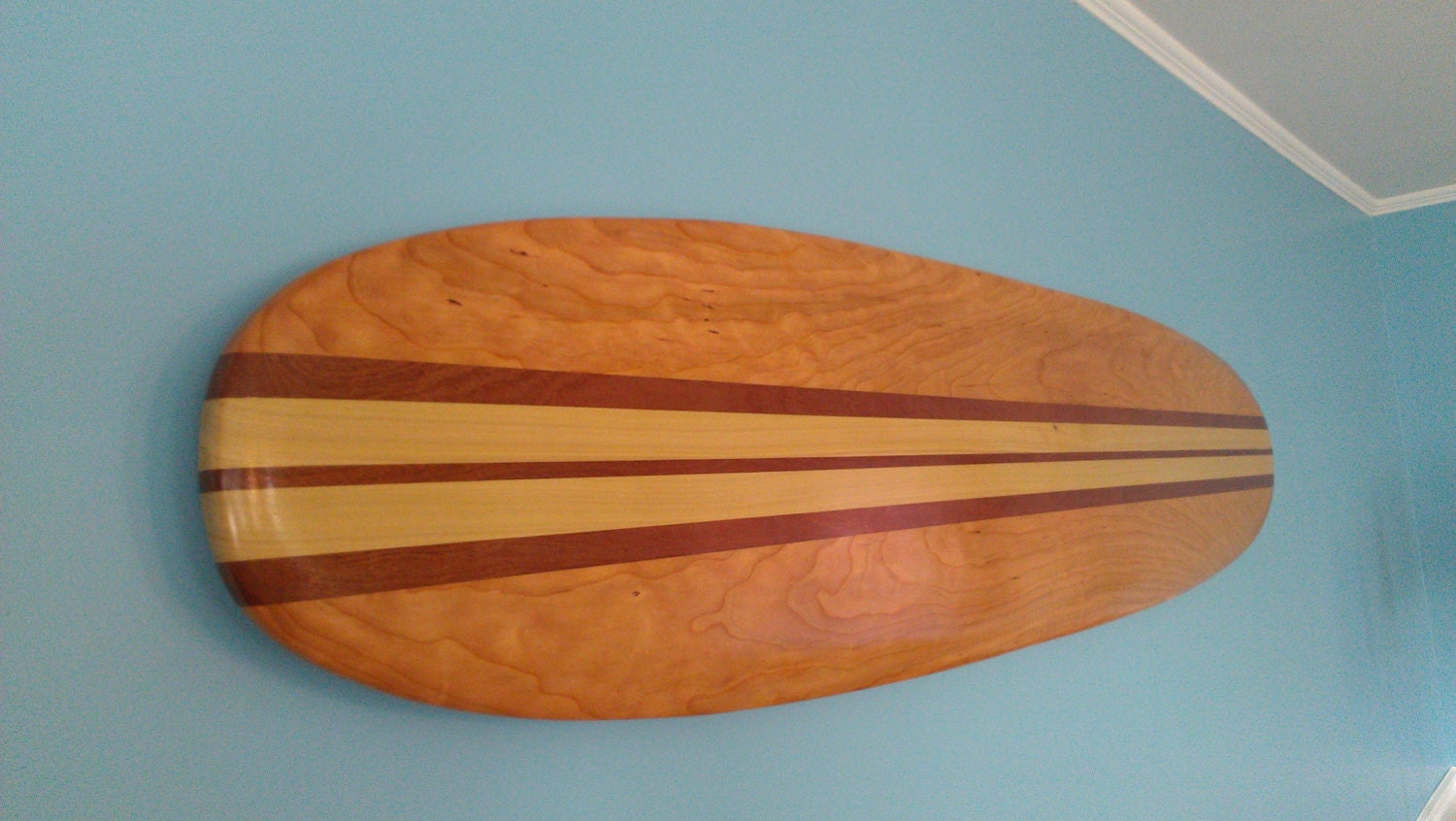 Surfboard wall hanging art 6 ft solid wood vintage zoom amipublicfo Images