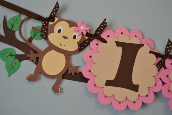 items similar to monkey baby shower theme on etsy