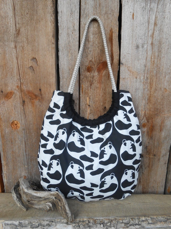 Panda Handbag Panda Bag Panda Gift Panda Purse Panda Bear Bag