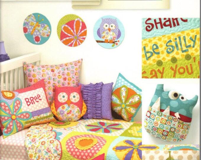 Curiosities & Mischief - Pattern Book by Art to Heart - Nancy Halvorsen Quilt Patterns - 16 Quilts, Pillows and More! (w1046)
