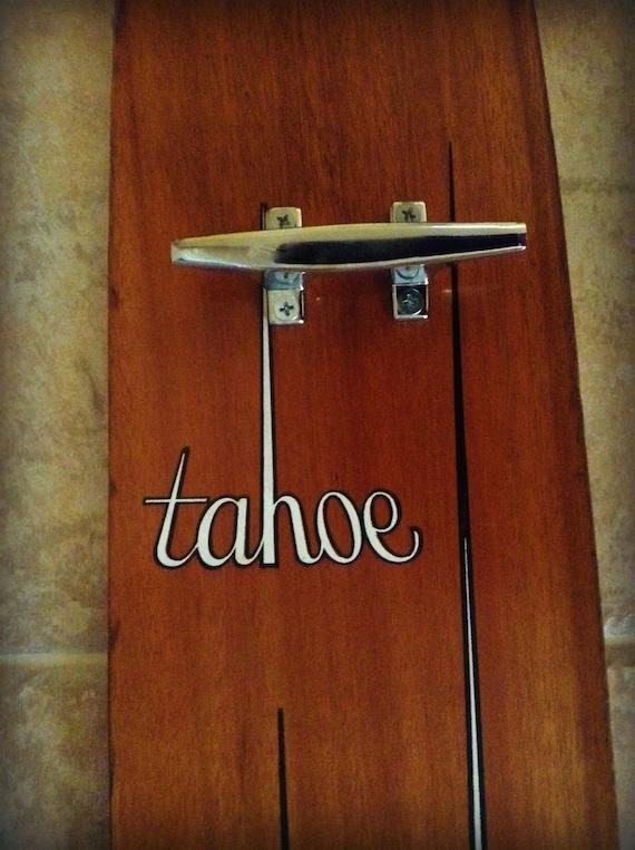 Vintage Water Ski Coat Rack Tahoe Cleats By