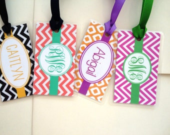Bag Tag, 2 x 3.5 with Ribbon Tie