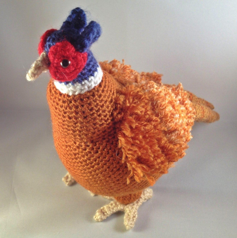 Amigurumi Top Hat Pattern : Crochet Amigurumi Pheasant pattern. This is the pattern ...