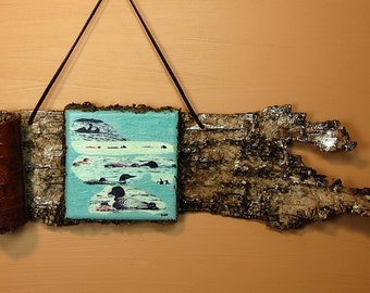 """LOON PHOTO Wall Hanging - """"LOON Family's Day """""""